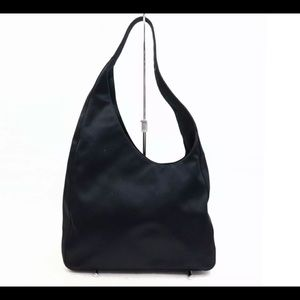 Authentic Prada Vintage Shoulder Bag Black